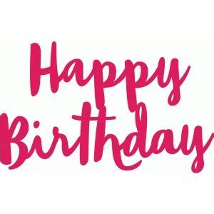 write happy birthday in design silhouette design store view design 93997 happy