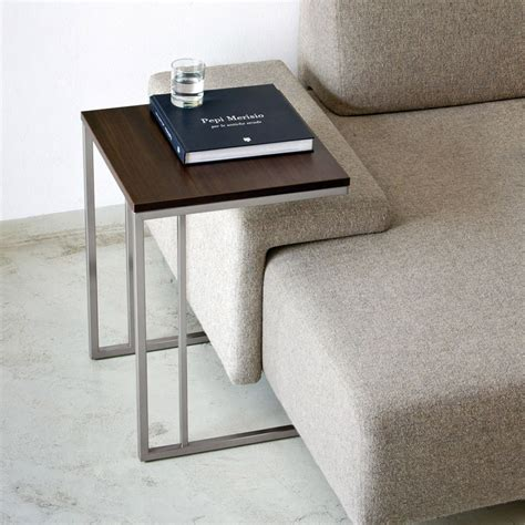sofa beistelltisch side table coffee table pedrali with metal structure and