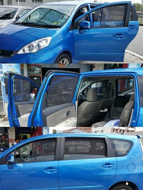Cermin Kereta Vellfire penghadang matahari kereta custom size kenderaan