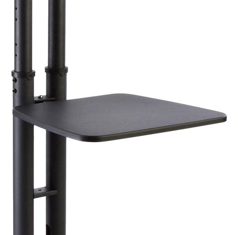 Narrow Width Stands Black Monitor Display Shelf Accessory 19 Quot Wide Mb Tv Add On