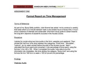 short report writing