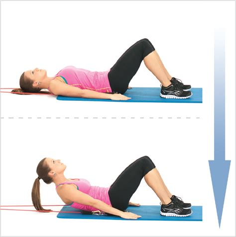 resisted abs crunch  exercise resistance bands creates  abs