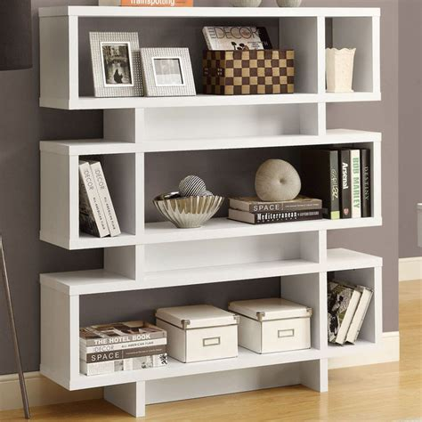 modern white bookcases 23 unique white modern bookcases yvotube