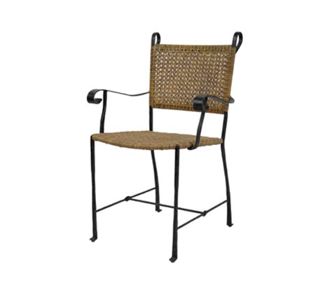 indoor wicker dining chairs with arms petal arm chair dining chairs style indoor furniture
