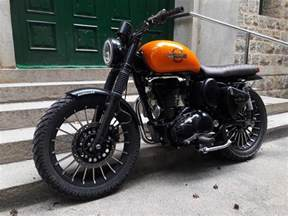 Honda Bullet Bike Achilles Royal Enfield Scrambler By Bulleteer Customs
