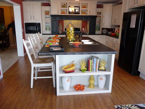 decorating a kitchen island make your kitchen shiny with granite counter tops decor