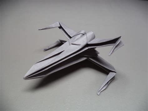 How To Make An Origami With Wings - how to make x wing origami make