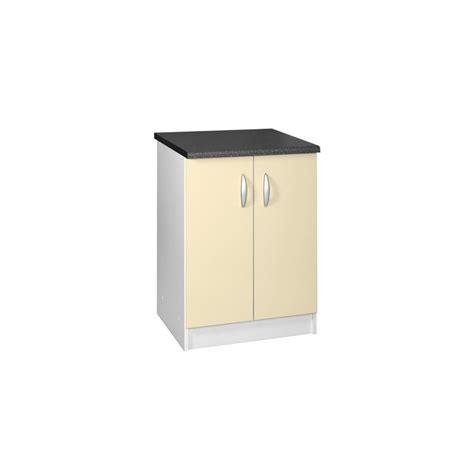 meuble bas cuisine 80 cm meuble de cuisine bas 2 portes 80 cm oxane laqu 233 brillant