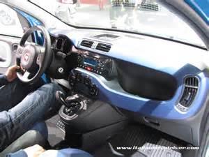 nuova panda interni interni nuova fiat panda motor show 2011