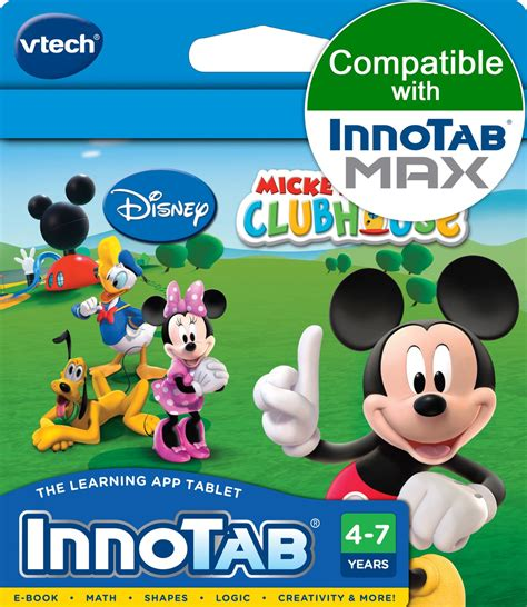 Mickey Mouse Clubhouse by Innotab Software Cartridge Mickey Mouse Clubhouse