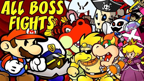 Paper Mario And The Thousand Year Door by Paper Mario The Thousand Year Door Bosses Www Pixshark