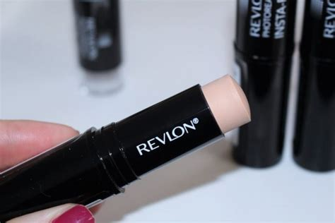 Revlon Foundation Stick revlon photoready insta fix makeup stick review swatches