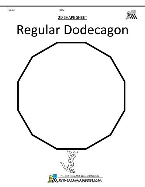 Dodecagon Interior Angles by Regular Dodecagon