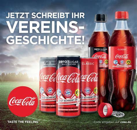 Bewerbung Coca Cola fu 223 ballkagne so erf 252 llt coca cola die tr 228 ume deutscher