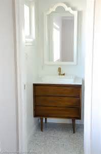 mid century modern bathroom vanity ideas designing a tiny bathroom cre8tive designs inc