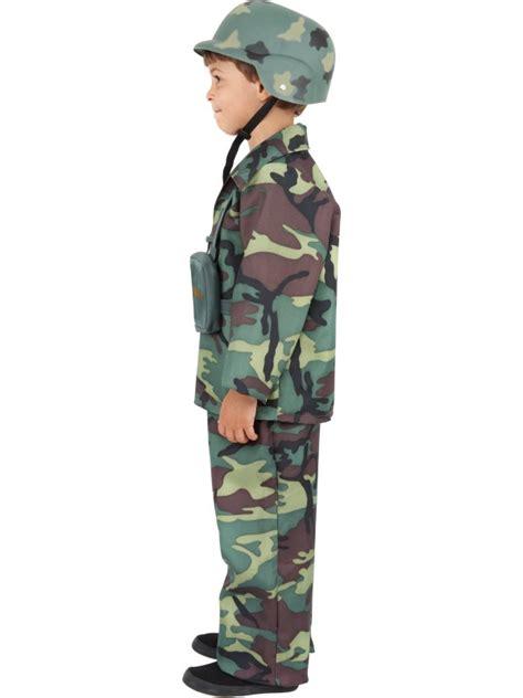 Preloved Army Merk Avenue Avenue jongens kostuum leger