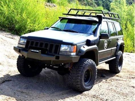 Jeep Zj Parts Jeep Grand Zj 93 98 Front Steel Bumper Winch