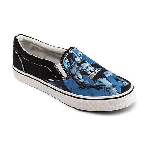 batman slip on sneakers