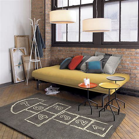 hopscotch rug skip out the door with this hopscotch rug