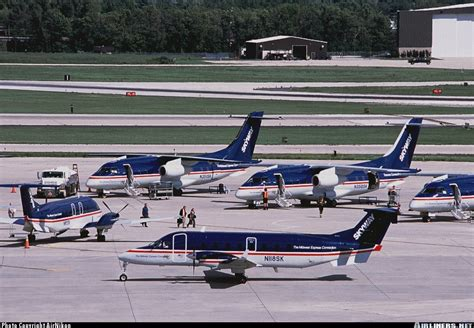 beech 1900d skyway airlines midwest express connection aviation photo 0193743 airliners net