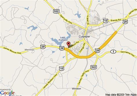 comfort inn culpeper va map of comfort inn culpeper culpeper