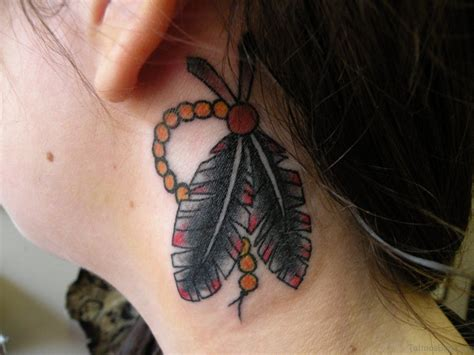 feather tattoo on neck 60 appealing feather tattoos on neck