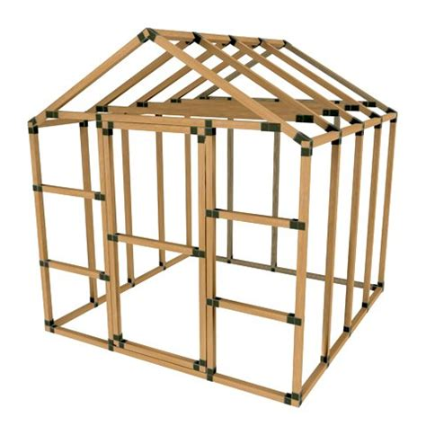 Shed Frame Kit buy sale 8x8 basic storage shed kit do it yourself by e z frames in cheap price on alibaba