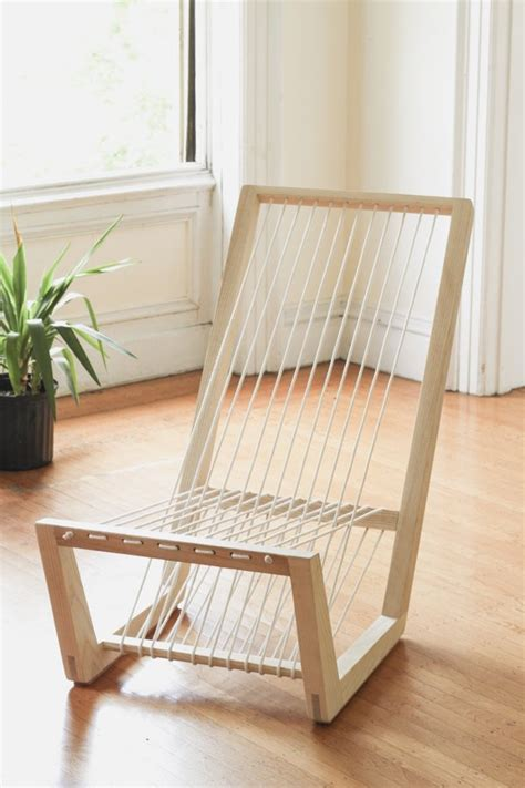 diy comfortable chair comfortable lounge with seating made of uncut cord