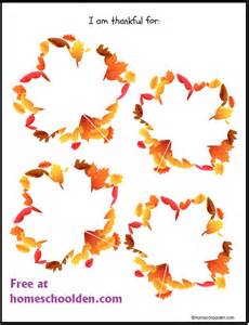 Thankful Tree Template by Thankful Leaves Writing Printable Free Homeschool Den