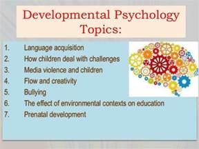 educational psychology thesis topics psychology term paper topics