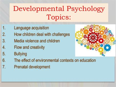 Child Psychology Essay Topics by Psychology Term Paper Topics