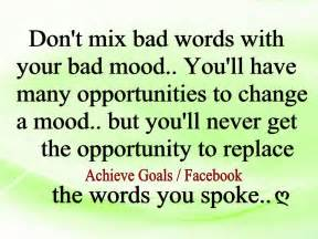 dreams don t mix bad words with your bad mood