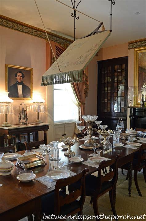 dining  rosedown plantation st francisville louisiana