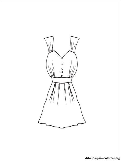imagenes para colorear vestido fotos de vestidos para dibujar imagui
