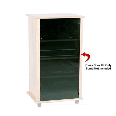 Tv Component Cabinet With Glass Doors by Object Moved