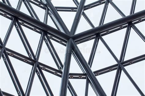 triangle pattern glass building structure stock image image of high urban
