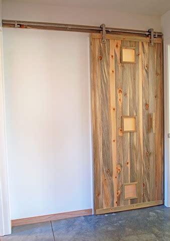 Sliding Barn Door Construction Andrew Traub Studio