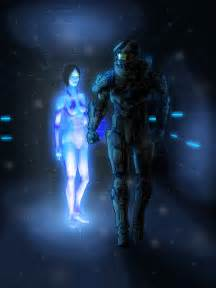 Halo master chief and cortana by thorup on deviantart