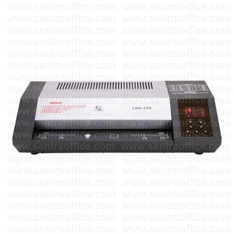 Mesin Laminating Dynamic Lm 330 jual mesin laminating topas type lm6 330 murah sentra office