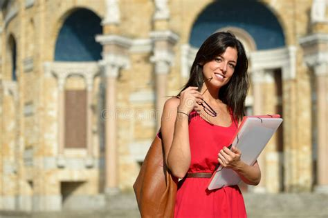 Spain Mba Scholarship by Confident College Student Stock Image Image 35144009