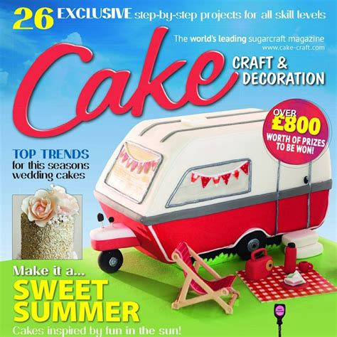 Cake Craft And Decoration Magazine Back Issues by Cakes By No More Tiers Homepage