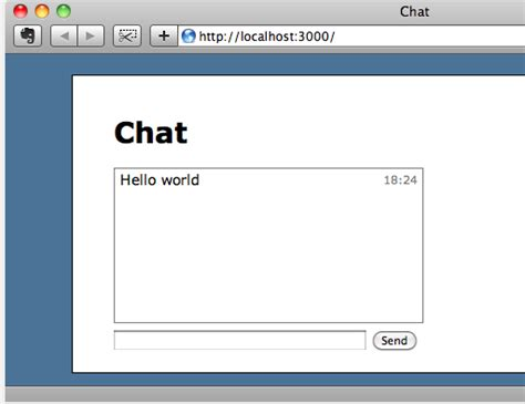 Ruby On Rails How Do I Set Up A Basic Scaffold For A Chat Box Or List For The Gravatar Or Faye Rails Email Template