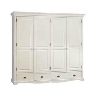 grande armoire penderie blanche de style maison