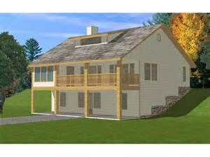 Front Sloping Lot House Plans Country Home Plan 088d 0188 House Plans And More