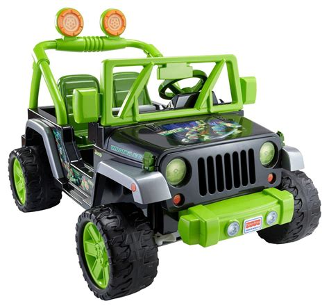 power wheels jeep wrangler amazon com fisher price power wheels teenage mutant ninja