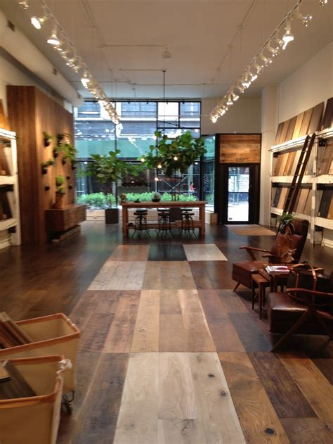 LV Wood   a floor shopping sanctuary in the Flatiron