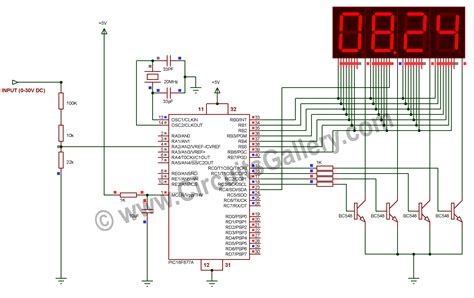digital electronic circuits electronic mini projects with circuit diagram and