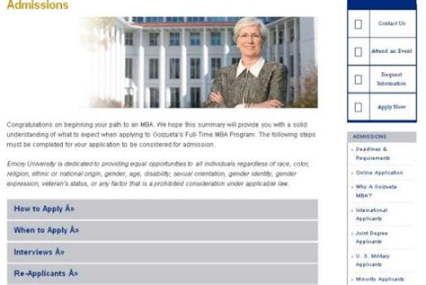Emory Mba Requirements by Admission Deadline For Emory 2018 2019 Studychacha