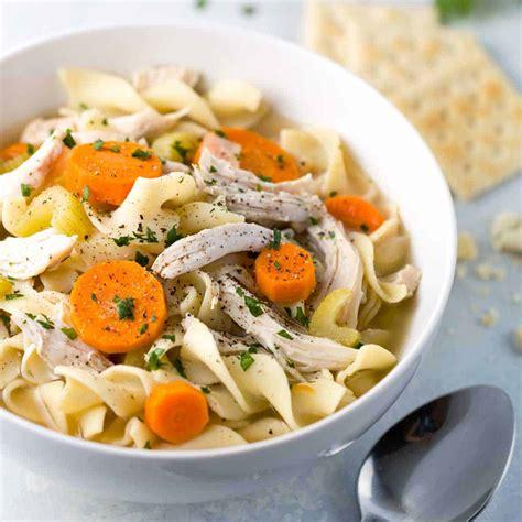 easy slow cooker chicken noodle soup recipe jessica gavin