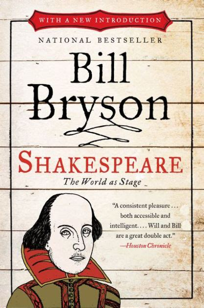 shakespeare the world as shakespeare the world as stage by bill bryson paperback barnes noble 174